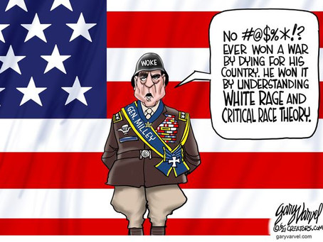 General Mark Milley - 20th Chairman of the Joint Chiefs of Staff .. & Critical Race Theory