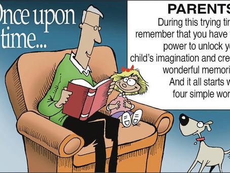 April 3, 2021 - Cartoon - The Good Old Days