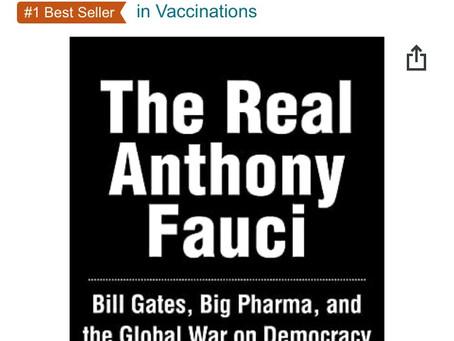 "EA Best Seller Alert: ""The Real Anthony Fauci"" written by Robert F. Kennedy Jr."
