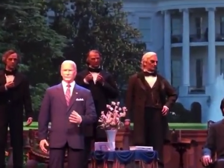 Biden's take on the Declaration of Independence in the presence of our Founding Fathers
