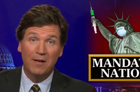 """Tucker Carlson: """"This is proof Biden & his lackeys in media are lying about Covid"""""""