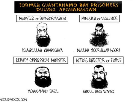Biden paves the way for Guantanamo prisoners to land in Afghanistan with deadly intentions & roles
