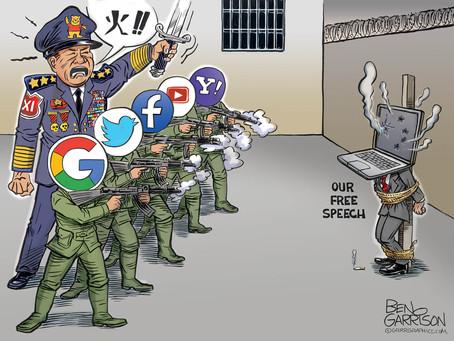 Xi Jinping & his Tech Tyrant Free Speech Firing Squad