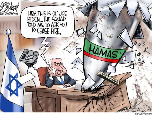 BIden & his anti-Semitic Squad Morons are putting the world at risk