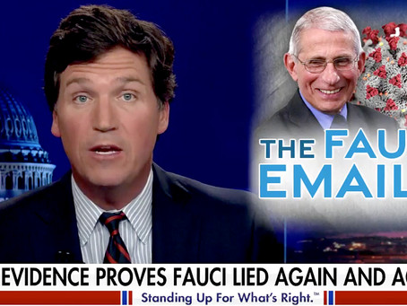 Anthony Fauci: Tucker Carlson's 11-minute monologue on Fauci & his crimes against humanity