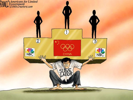 NBC clings to its plan to air the 2022 Winter Olympics despite the CCP's genocidal pathology