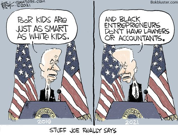 The 'real' Biden always comes out in his words