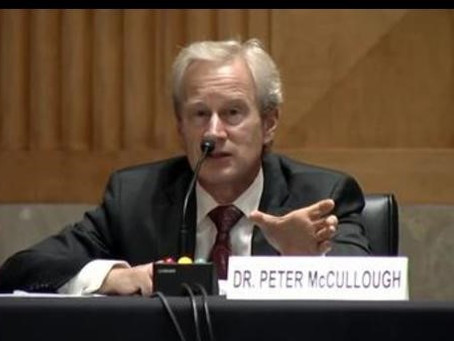 """Dr. Peter McCullough: World Renowned Cardiologist """"Blows the lid off Covid"""""""