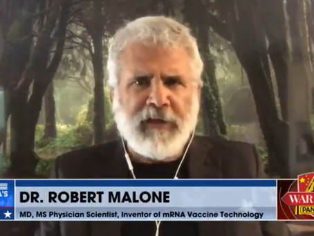 """Dr. Robert Malone on Bannon War Room: """"Vaccine induced ADE is the vaccinologist's worst nightmare"""""""