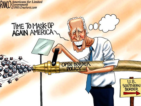 """Biden's Southern Border Policy - What ever happened to """"following the science""""?"""