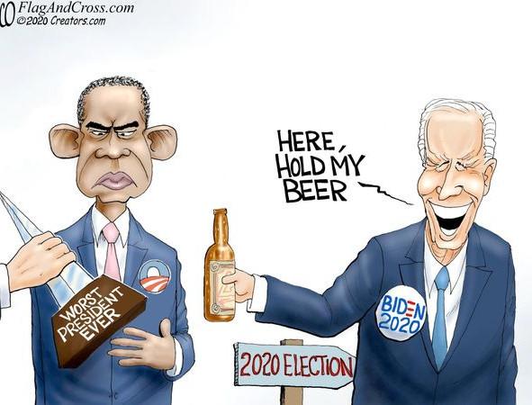Move aside Obama, Joe Biden is the worst (illegitimate) President ever