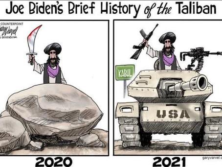 """Taliban Progress"" & the Bloody Hands of Biden, Blinken & Milley"