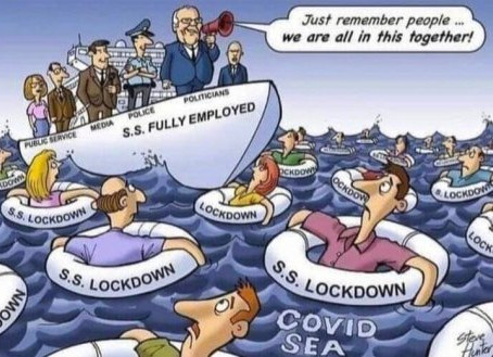 The 'Covid Sea' .. The trap on the masses has been set