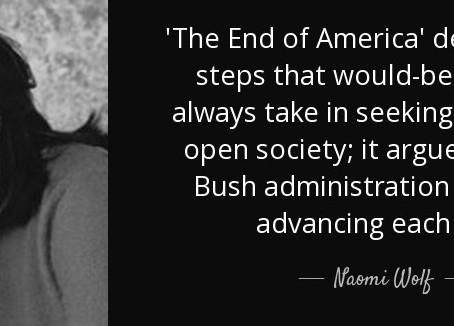 Naomi Wolf: The End of America - a 2007 precursor to today's global crisis