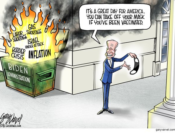 """Biden is Burning Down """"the House"""""""