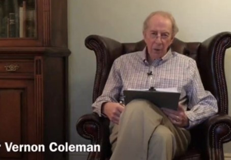 Dr. Vernon Coleman - Health risks associated with perpetual use of face masks