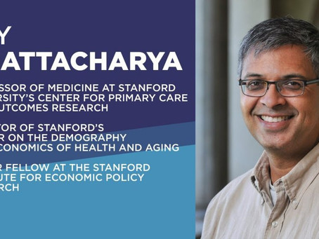Stanford Epidemiologist Dr. Bhattacharya says Covid Vaccination is a Matter of Personal Health