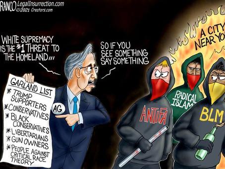 US Attorney General Merrick Garland - Enemy of Patriotic Americans & Friend of American Deviants