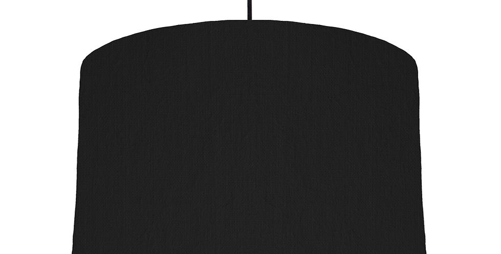 Black & White Lampshade - 40cm Wide