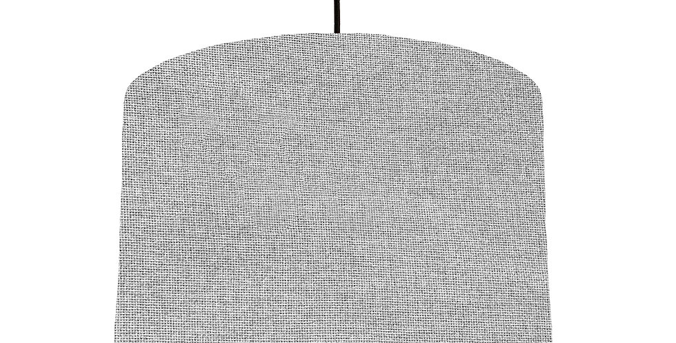 Woven Light Grey Lampshade