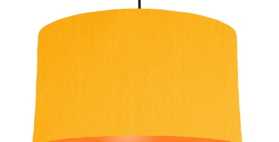 Sunshine & Orange Lampshade - 50cm Wide