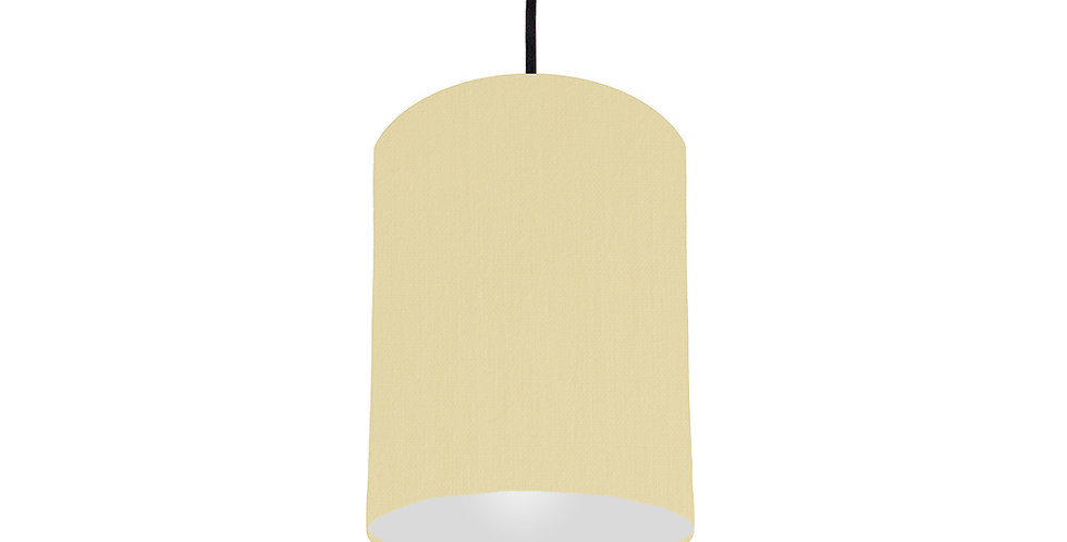 Natural & Light Grey Lampshade - 15cm Wide