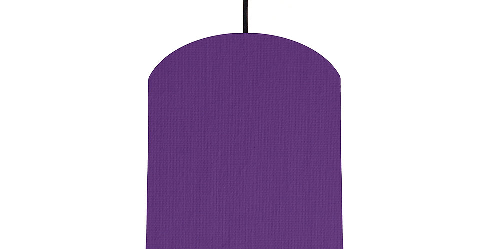 Violet & Ivory Lampshade - 20cm Wide