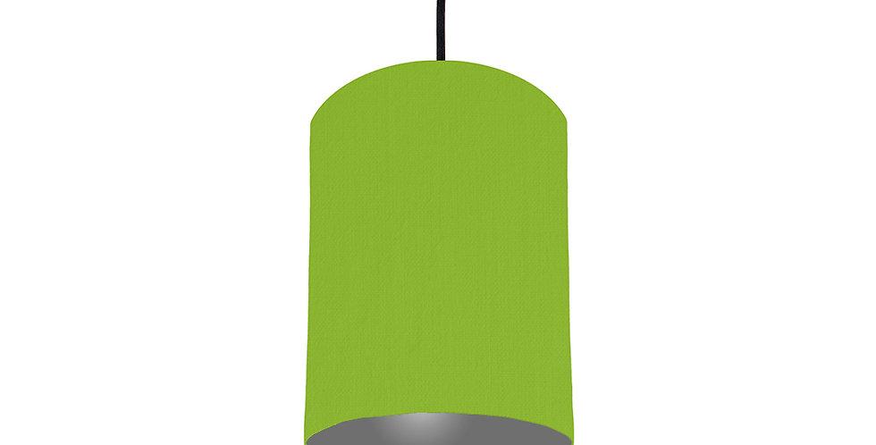 Pistachio & Dark Grey Lampshade - 15cm Wide