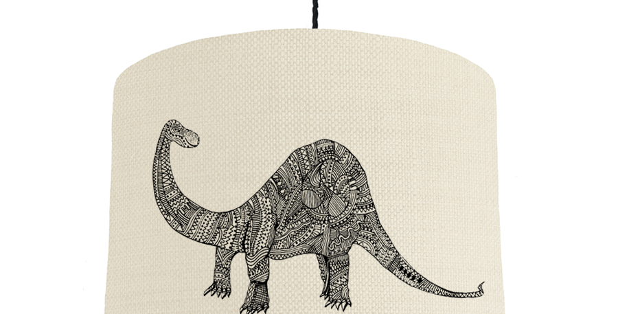 Dinosaur - Natural & White Lining