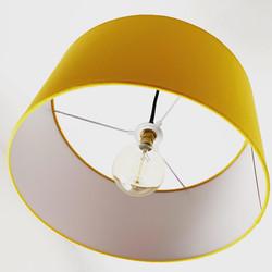 Lemon Yellow lampshade