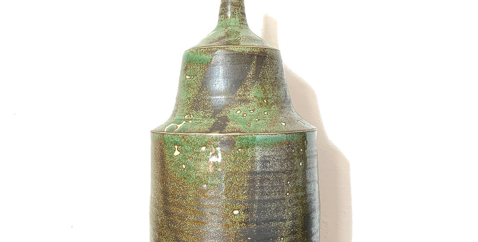 Green Ceramic Table Lamp Base - 2 Available