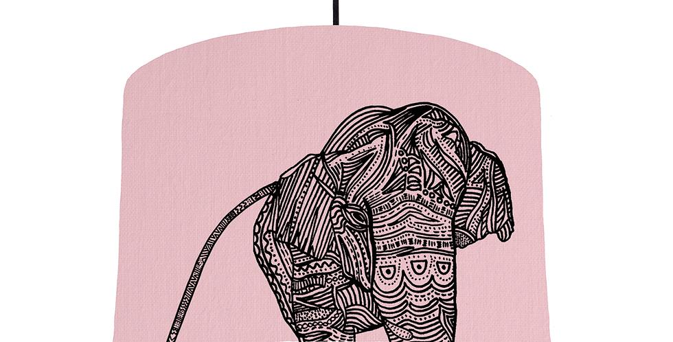 Elephant - Pink Fabric
