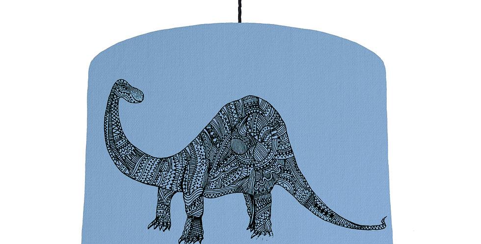 Dinosaur Shade - Sky Blue Fabric