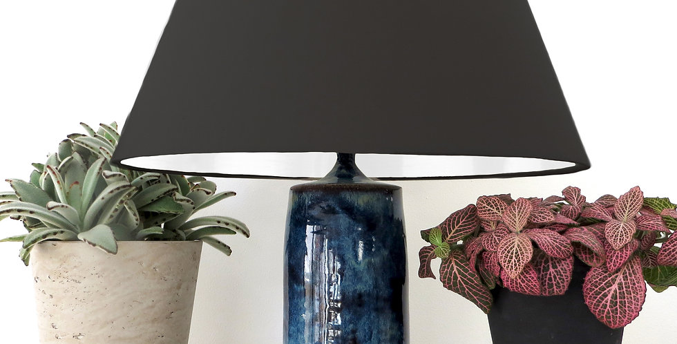 Conical Lampshade (30Tx40Bx30H) - White lining