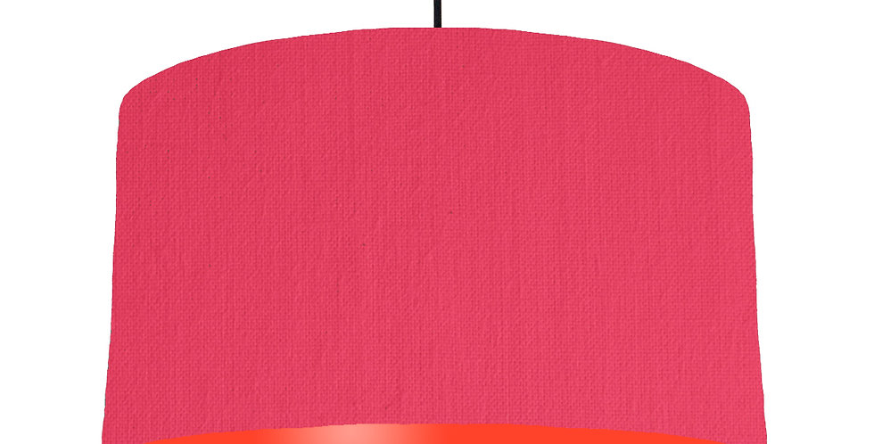 Cerise & Poppy Red Lampshade - 50cm Wide