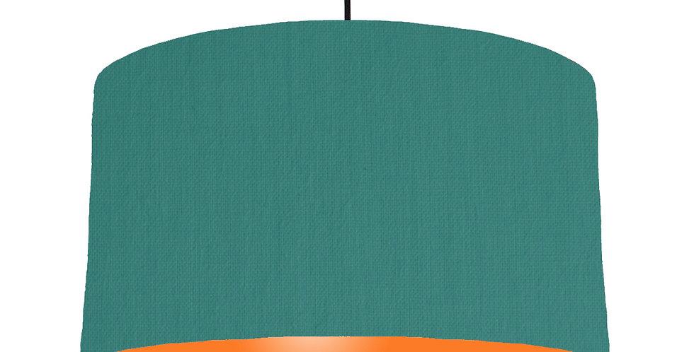 Jade & Orange Lampshade - 50cm Wide