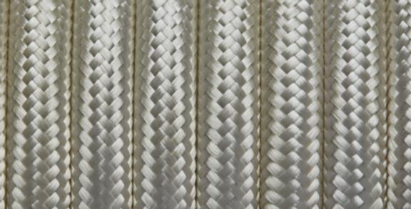 Cream - Industville Round Fabric Cable