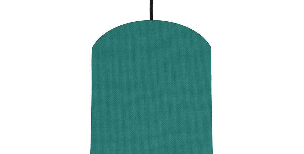 Jade & Lime Green Lampshade - 20cm Wide