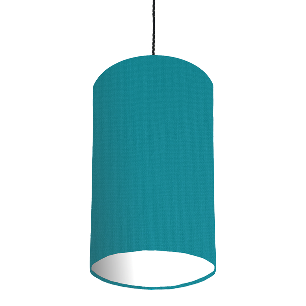 Teal Lampshade 20 x 40 cm