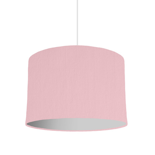Pink lampshades pink lampshade with a choice of lining colour 30cm wide aloadofball Gallery