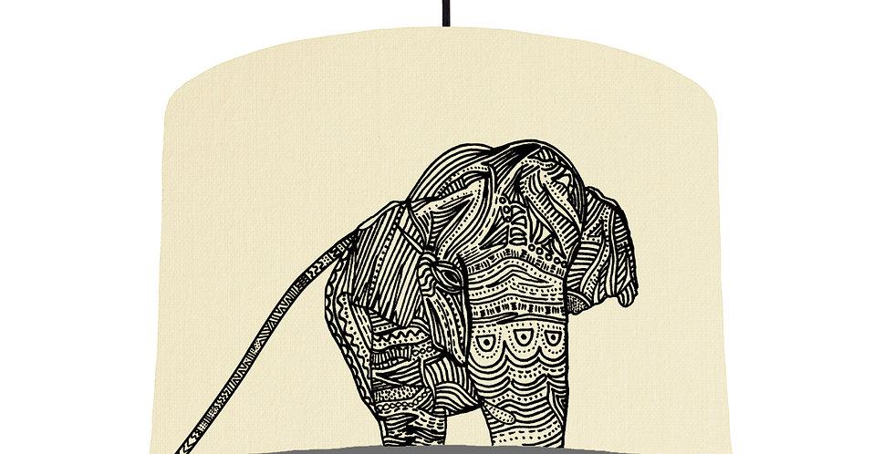 Elephant - Natural & Dark Grey