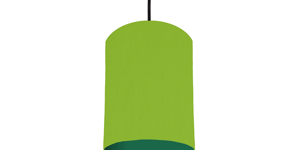 Pistachio & Forest Green Lampshade - 15cm Wide