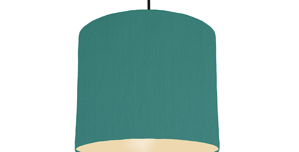 Jade & Ivory Lampshade - 25cm Wide