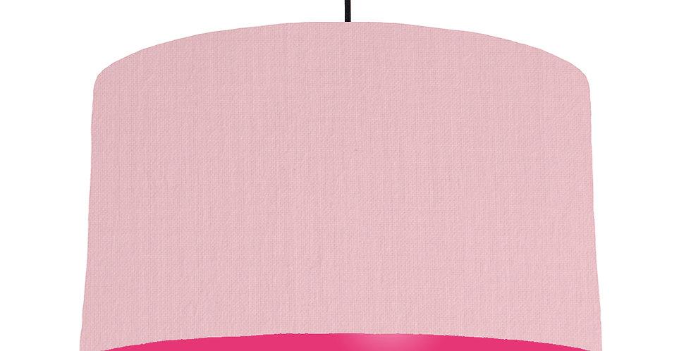 Pink & Magenta Lampshade - 50cm Wide