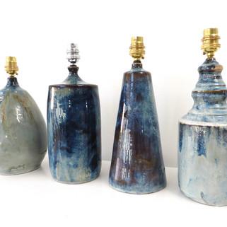 Series of bespoke lamp bases
