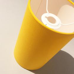 Sunshine yellow lampshade