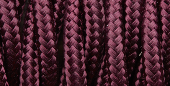 Plum - Industville Twisted Fabric Cable