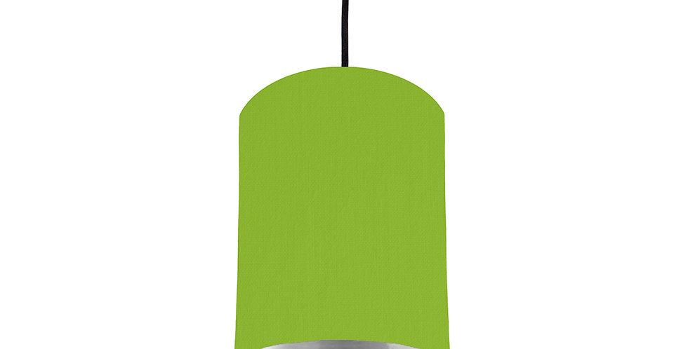 Pistachio & Silver Mirrored Lampshade - 15cm Wide