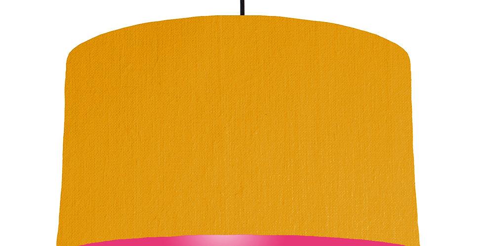 Mustard & Magenta Lampshade - 50cm Wide