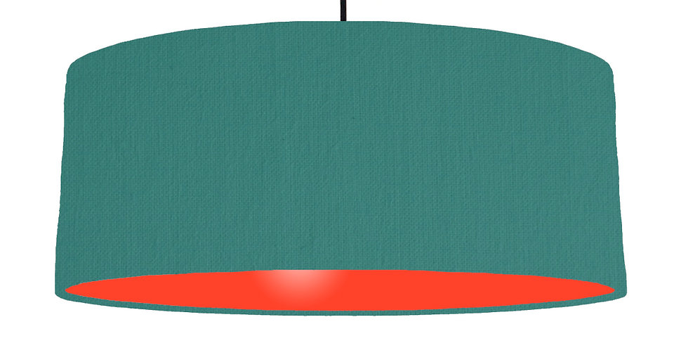 Jade & Poppy Red Lampshade - 70cm Wide